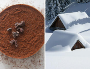 Did you know it snowed chocolate in Switzerland? Read more strange weather alerts here, including some that could be UFO sightings.