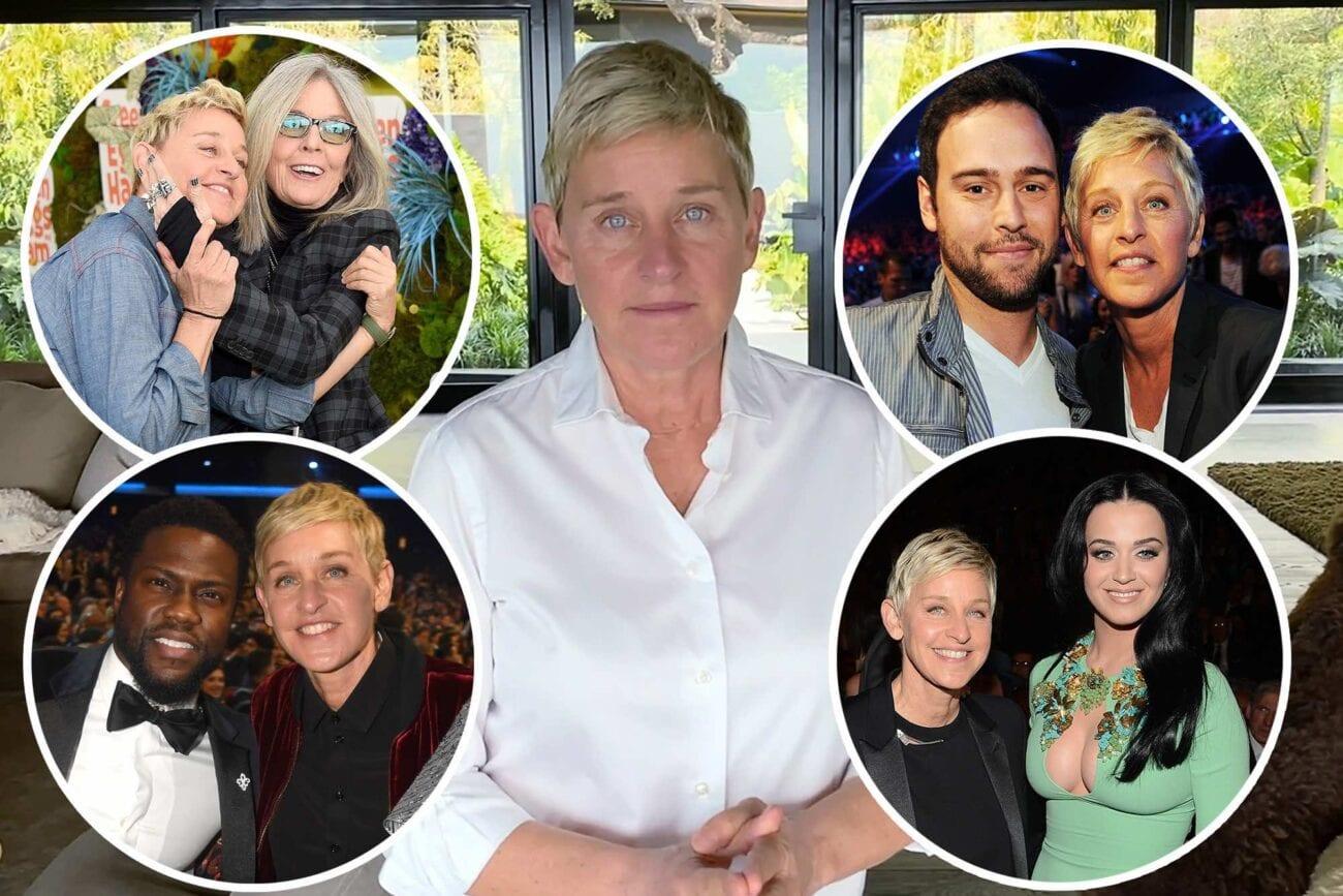 "Allegations of Ellen DeGeneres's ""mean"" behavior continue to gain. Here are some celebrity friends defending DeGeneres."