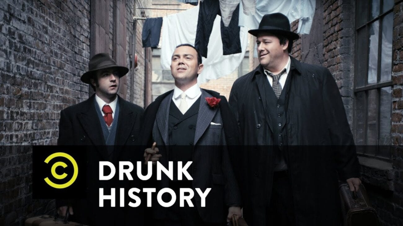 We're putting on our clown shoes, because 'Drunk History' was just canceled. Here's everything we know about the latest cancelation.