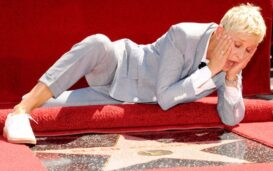 For celebrities in Hollywood, getting a star on the Hollywood Walk of Fame is a huge honor. Where is Ellen DeGeneres's Hollywood star?