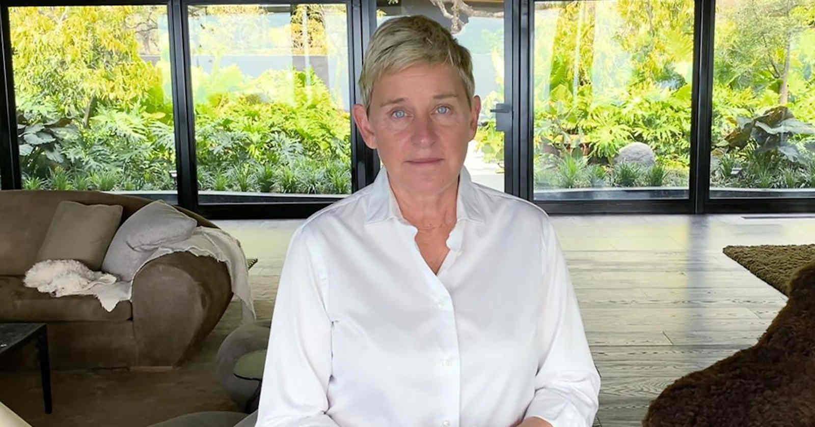 Ellen DeGeneres Tweet About Making Employee 'Cry Like A Baby' Resurfaces