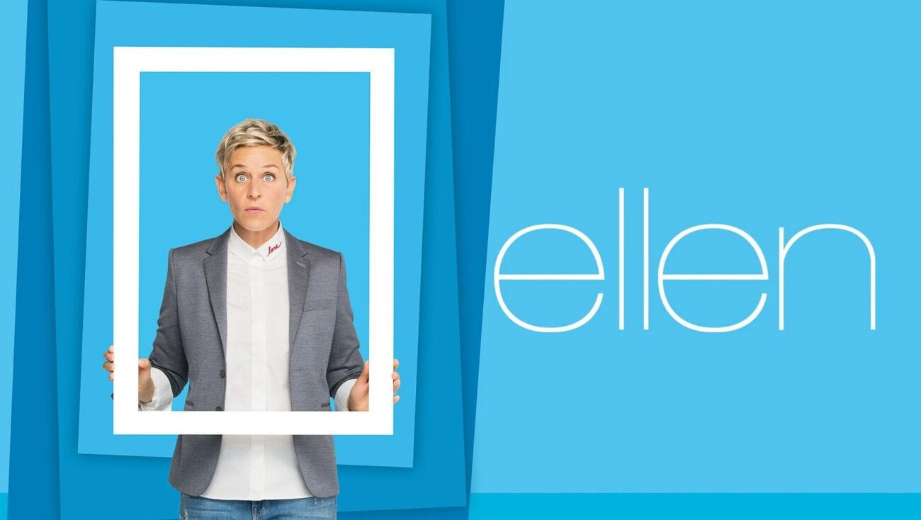 We've looked over some moments of 'The Ellen DeGeneres Show' again. Here are suspicious moments from Ellen herself.