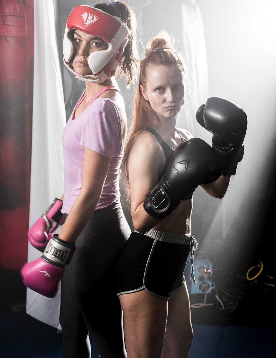 Xenia Leblanc is trying to help change the female narrative with her new series 'Gritty & Pretty', all about a female boxer and her best friend.