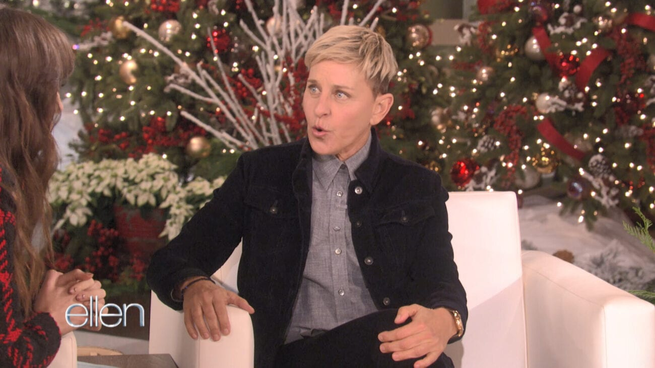 Ellen DeGeneres and her tension with a guest can lead to some awkward television. Here are some cringeworthy 'The Ellen DeGeneres Show' interviews.