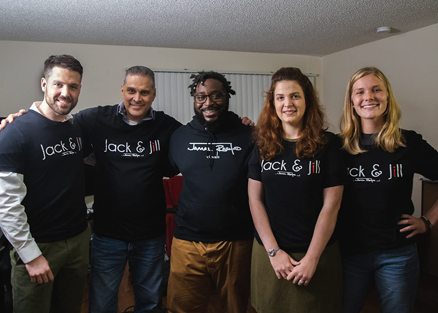 Jamal Rashad has been telling important stories his whole life, and 'Jack and Jill' is no different. He's using his platform to give survivors a voice.
