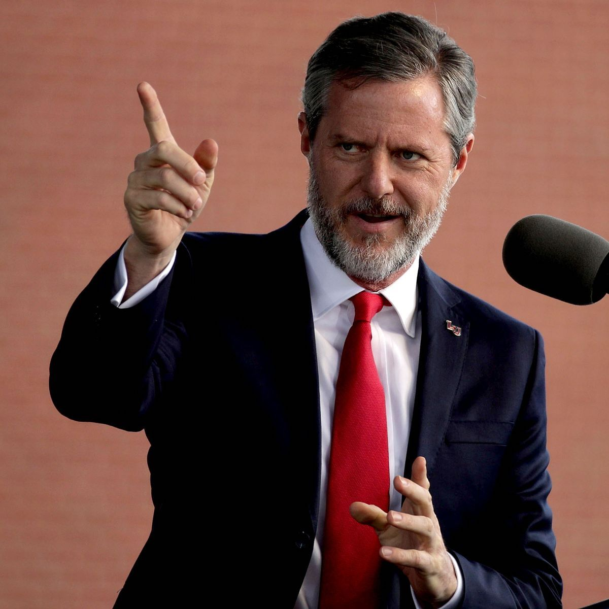 Former Liberty University President Jerry Falwell Jr. officially resigned as a result of an alleged sex scandal. Here's what we know.