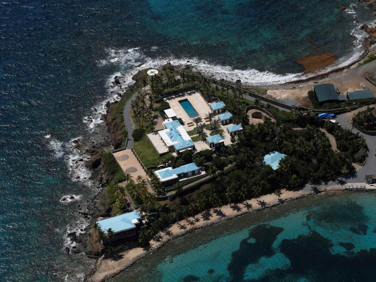 Jeffrey Epstein's Little St. James, a tiny island off the coast of St. Thomas in the U.S. Virgin Islands. Here's what life was like on the island.