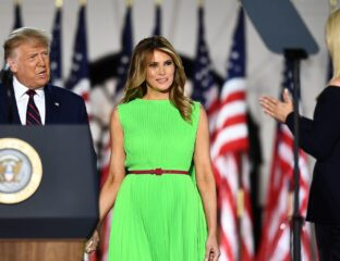 Melania Trump has always been known for being expressionless, but during the RNC, It looked like she was glitching. So Twitter decided to make it a meme.