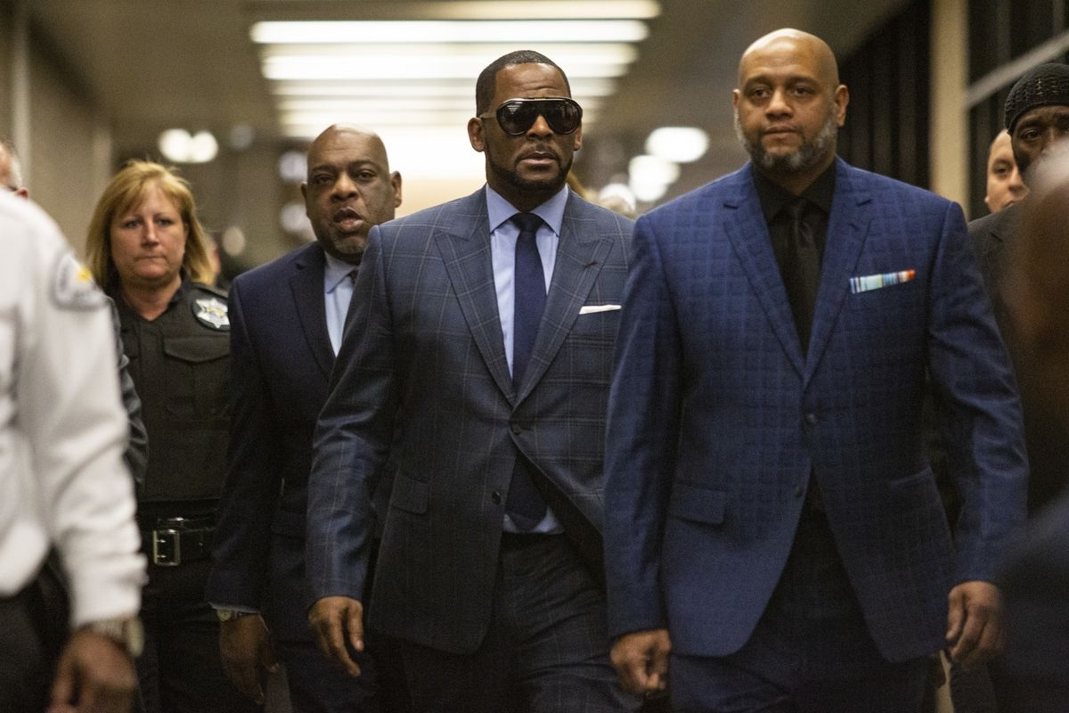 A theater had to cancel their screening of the Lifetime docuseries 'Surviving R. Kelly' after threats were called in. Who would do such a thing?