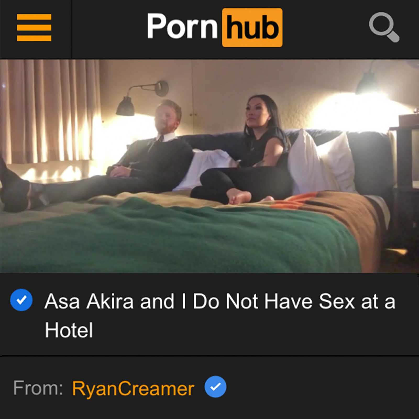 Pornhub: home to sex, boobs, dick, and wholesome content? It may sounds like a joke, but Ryan Creamer is changing the Pornhub game.