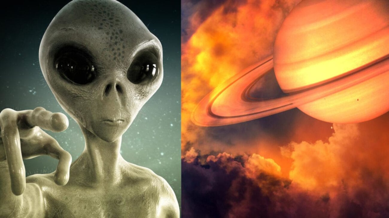 Some alien hunters think that extraterrestrials are living on Saturn's moons. Discover one wild theory about how aliens could be closer than we think.