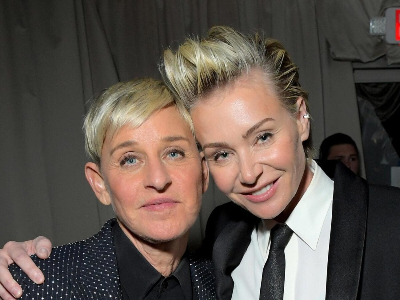 Ellen DeGeneres Gets Support From Wife Portia De Rossi After Backlash