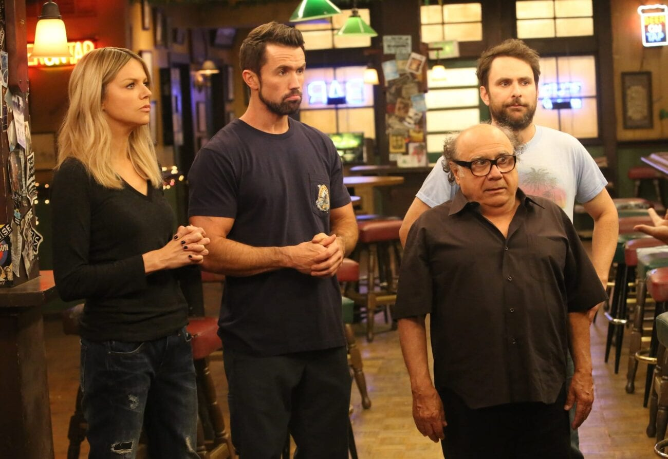'It's Always Sunny in Philadelphia' is a cult sitcom. We hit the archives & found the best dark humor jokes from 'It's Always Sunny in Philadelphia'.