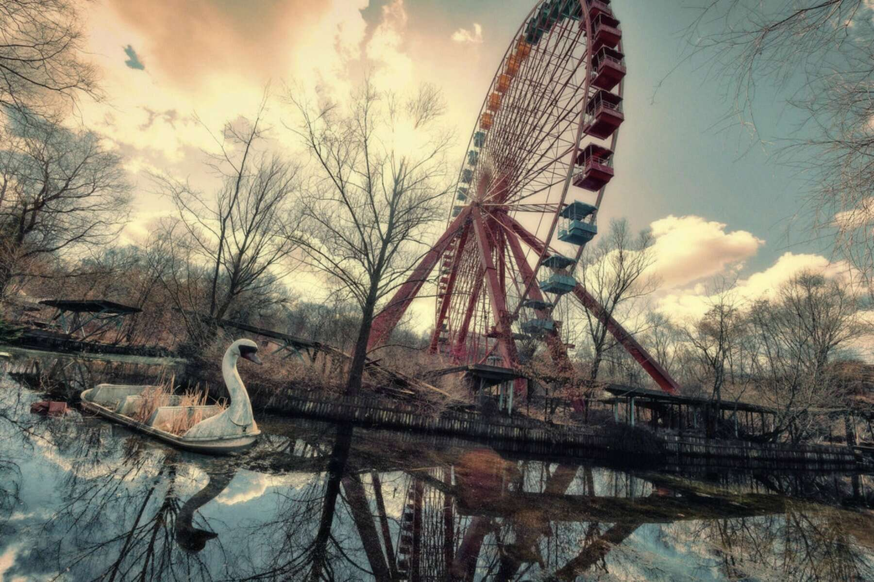 Creepy Abandoned Theme Parks Would You Visit Any Of These Places Film Daily