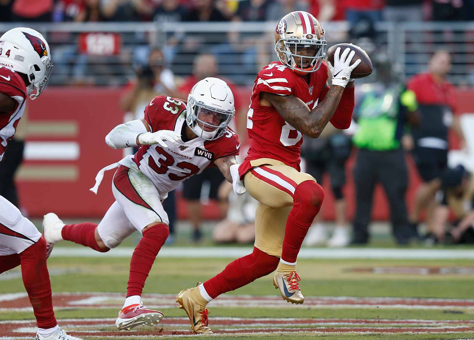 Way to watch 49ers vs Cardinals live stream reddit NFL game today free from anywhere, check the latest nfl score and updates.