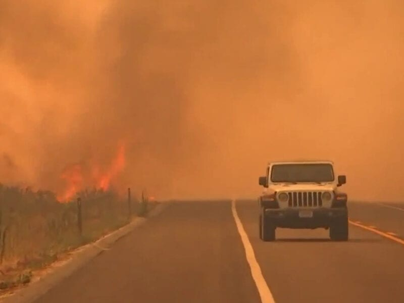 Right now, massive wildfires ravage California and the rest of the West Coast. See the landscape today and discover the horrifying conditions.