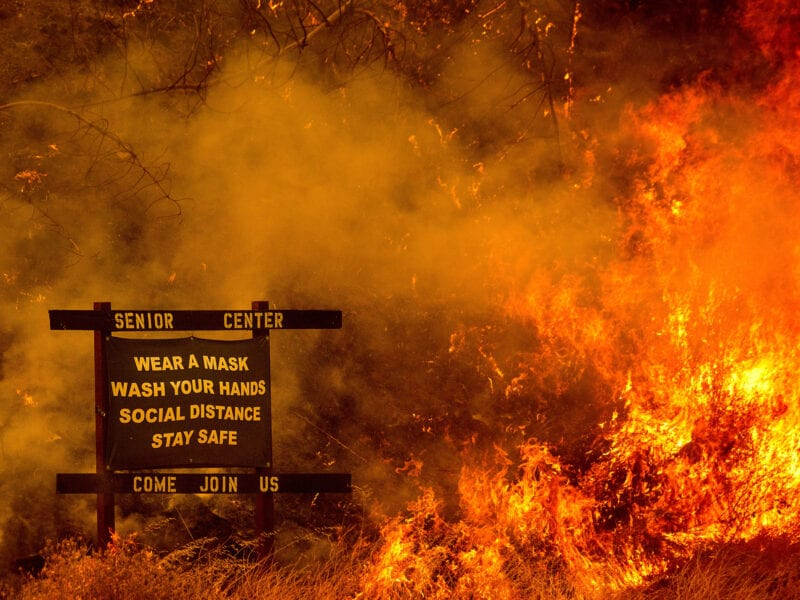 A couple of people were charged with arson in connection to wildfires in California. Is there an update? Discover if they were politically motivated.