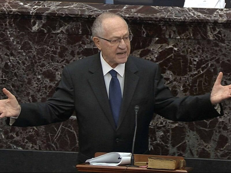 Alan Dershowitz is suing CNN over the way he was portrayed during the Trump impeachment coverage. What did they do to misportray Dershowitz?