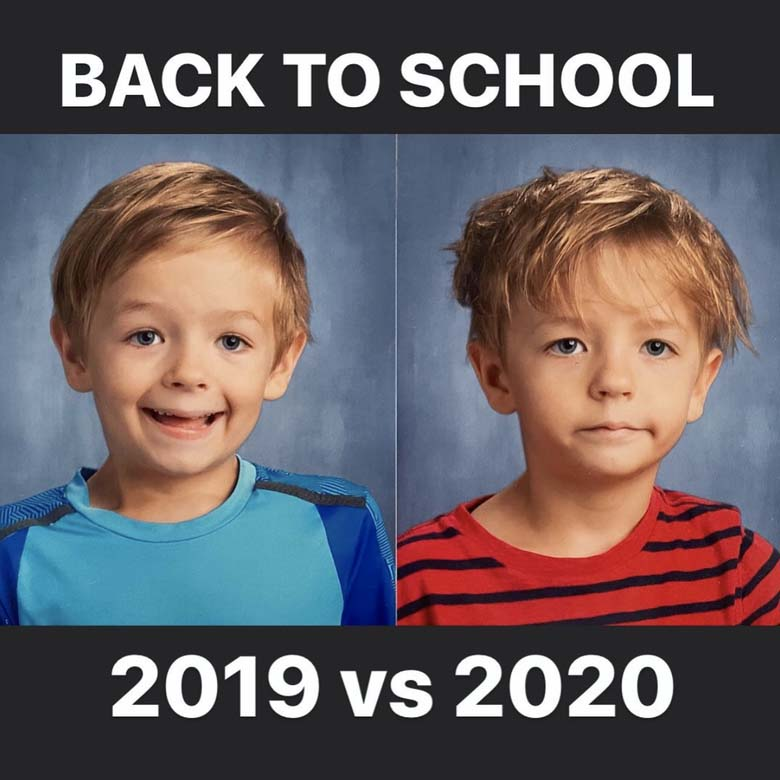 Going back to school any year is hard, but 2020 is especially difficult as many are homeschooling for now. So laugh it off with these memes.