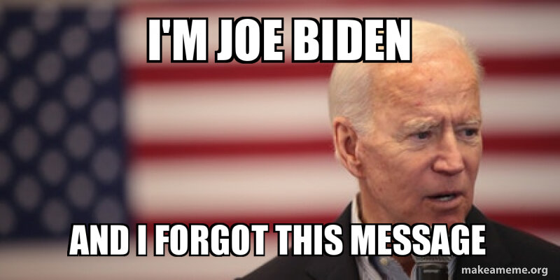 Joe Biden S Gaffe A Perfect Source For New Hilarious Memes Film Daily