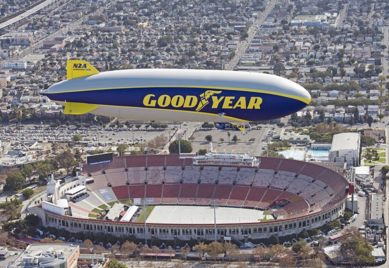 With how crazy 2020 is, it's no surprise there has been an uptick in UFO sightings around the globe. Was it the Goodyear Blimp or a UFO?