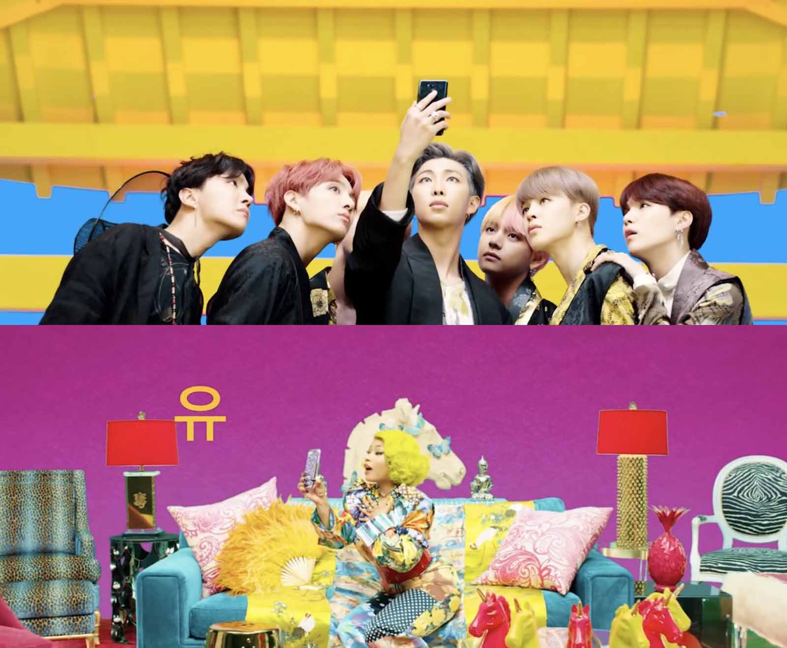 """BTS has quickly become one of the biggest artists in the world, and their recent hit """"Boy with Luv"""" is just the latest collab hitting the charts."""