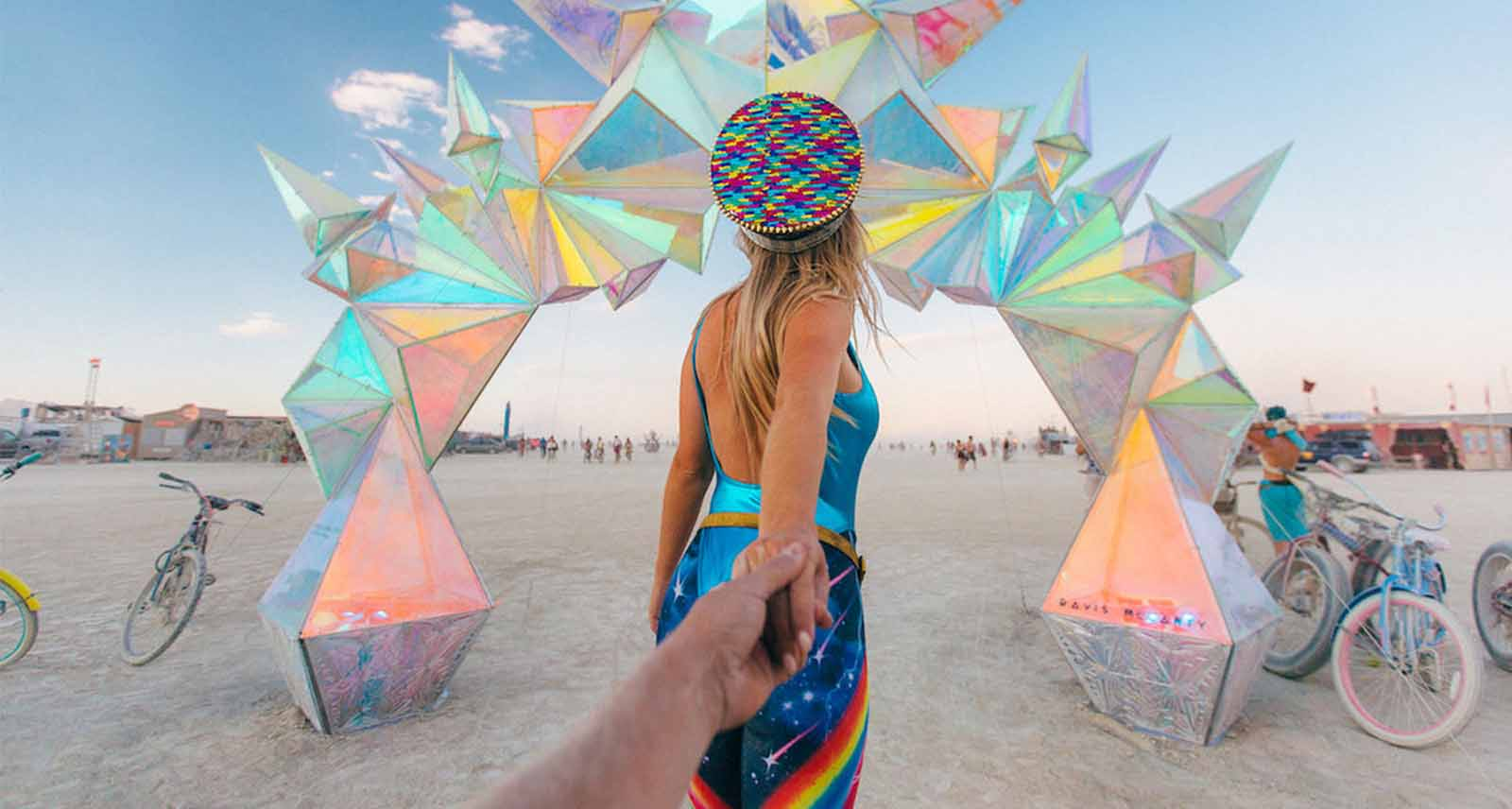 Burning Man 2020 may have been moved to online, but that didn't stop lifetime burners from trying to put on their own festival in the playa.
