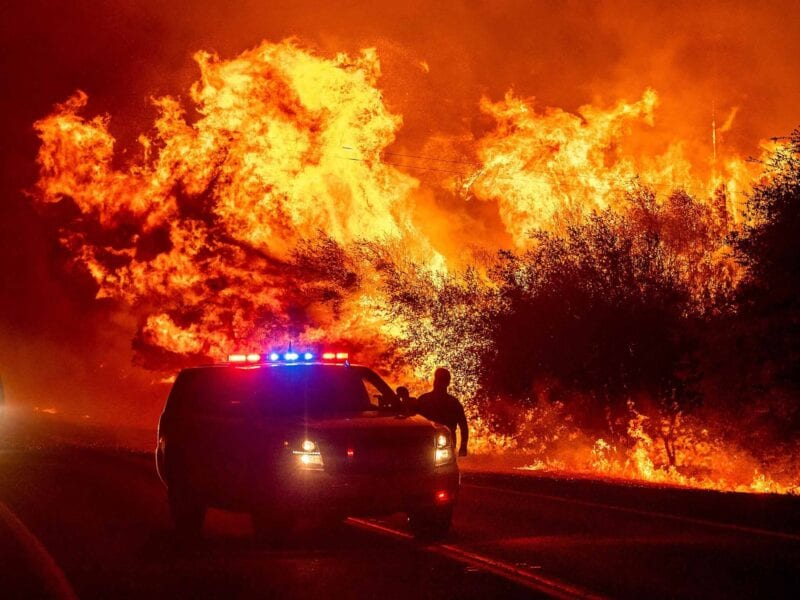 California is currently on fire due to a gender reveal party gone wrong. People let their frustrations out in meme form.