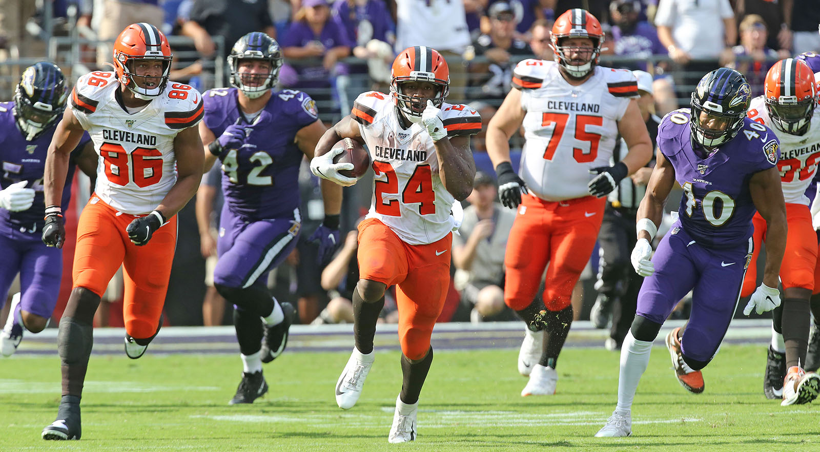 Way to watch Browns vs Ravens live stream reddit NFL game today free from anywhere, check the latest nfl score and updates.