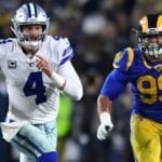 Way to watch Cowboys vs Rams live stream reddit NFL game today free from anywhere, check the latest nfl score and updates.