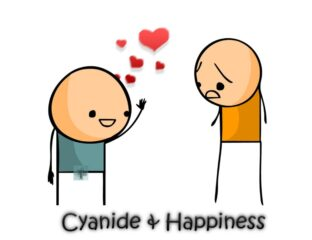 Need a little dark humor chuckle? Check out these wildly inappropriate jokes from the classic webcomic 'Cyanide and Happiness'.