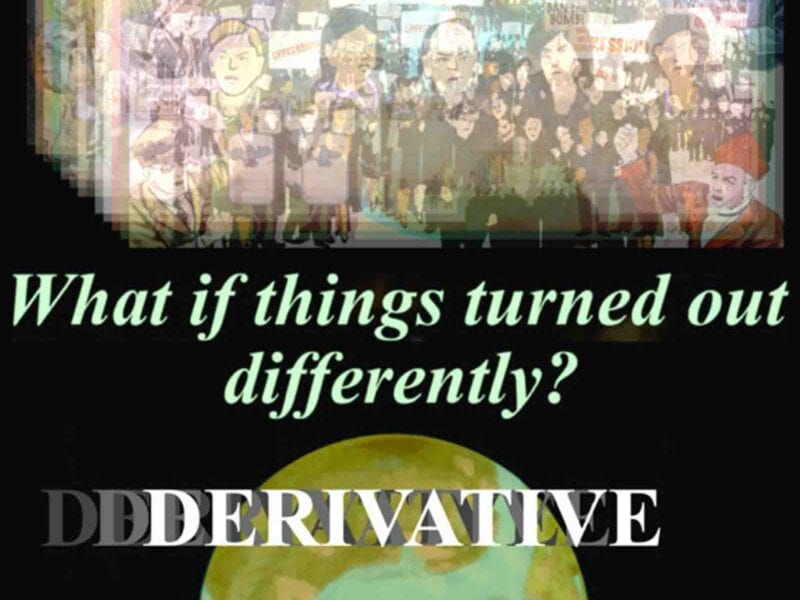 The animated short film 'Derivative', directed by Gary M. Sanner is an interesting insight into current events.