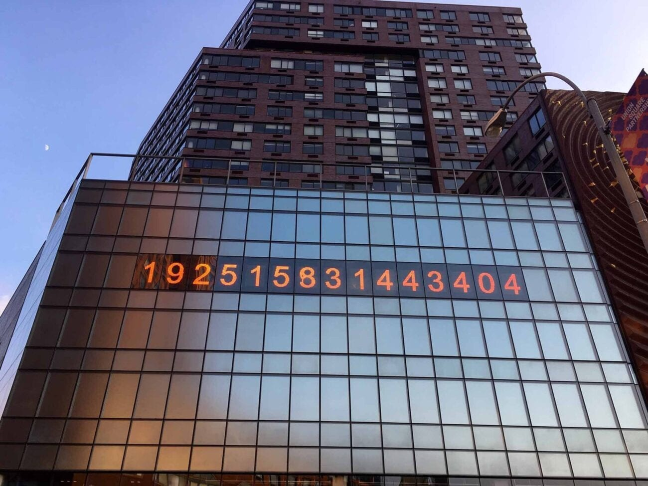 Is the famous doomsday clock really inching closer to midnight? Discover the new doomsday numbers on the New York Metronome Clock.