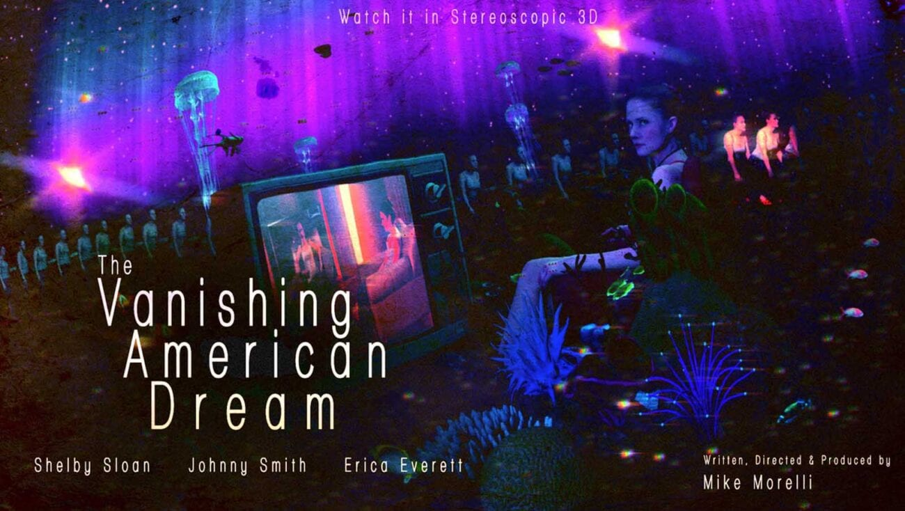 'The Vanishing American Dream' is a trippy film that utilizes brand new technology to tell a visually stunning story.
