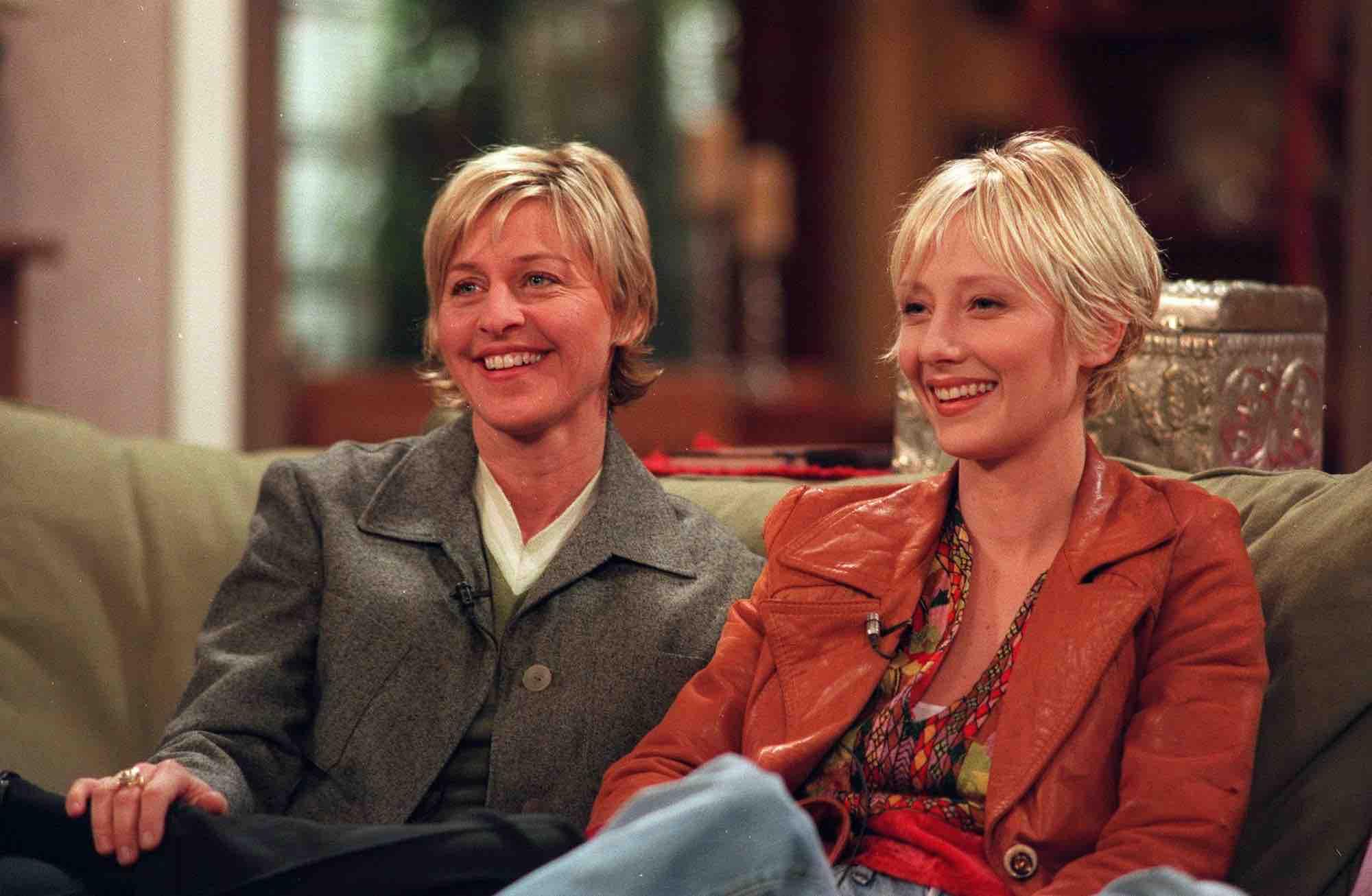 Ellen DeGeneres ex Anne Heche claims their romance
