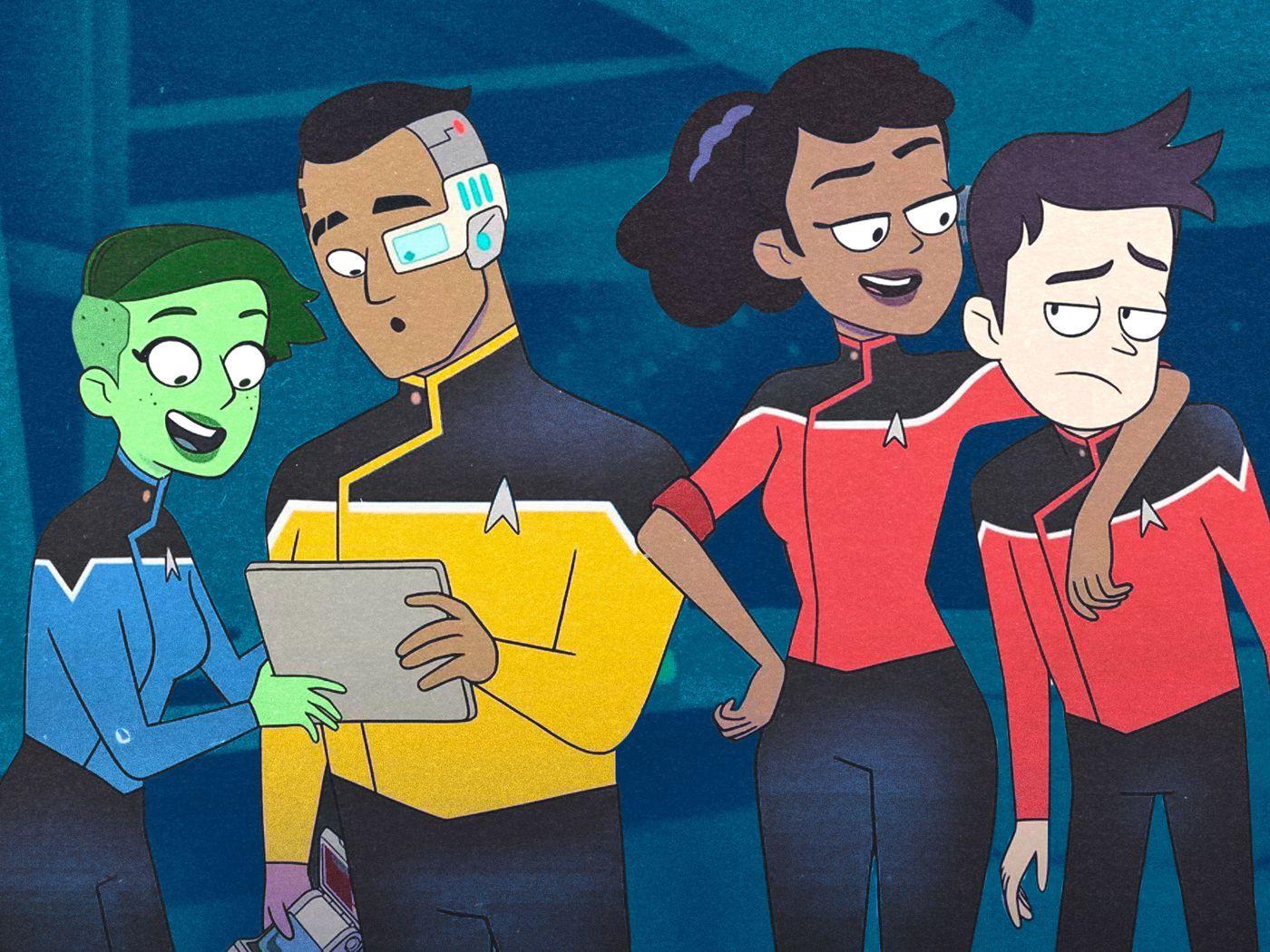 Did Cbs Finally Get Star Trek Right In Cartoon Comedy Lower Decks Film Daily