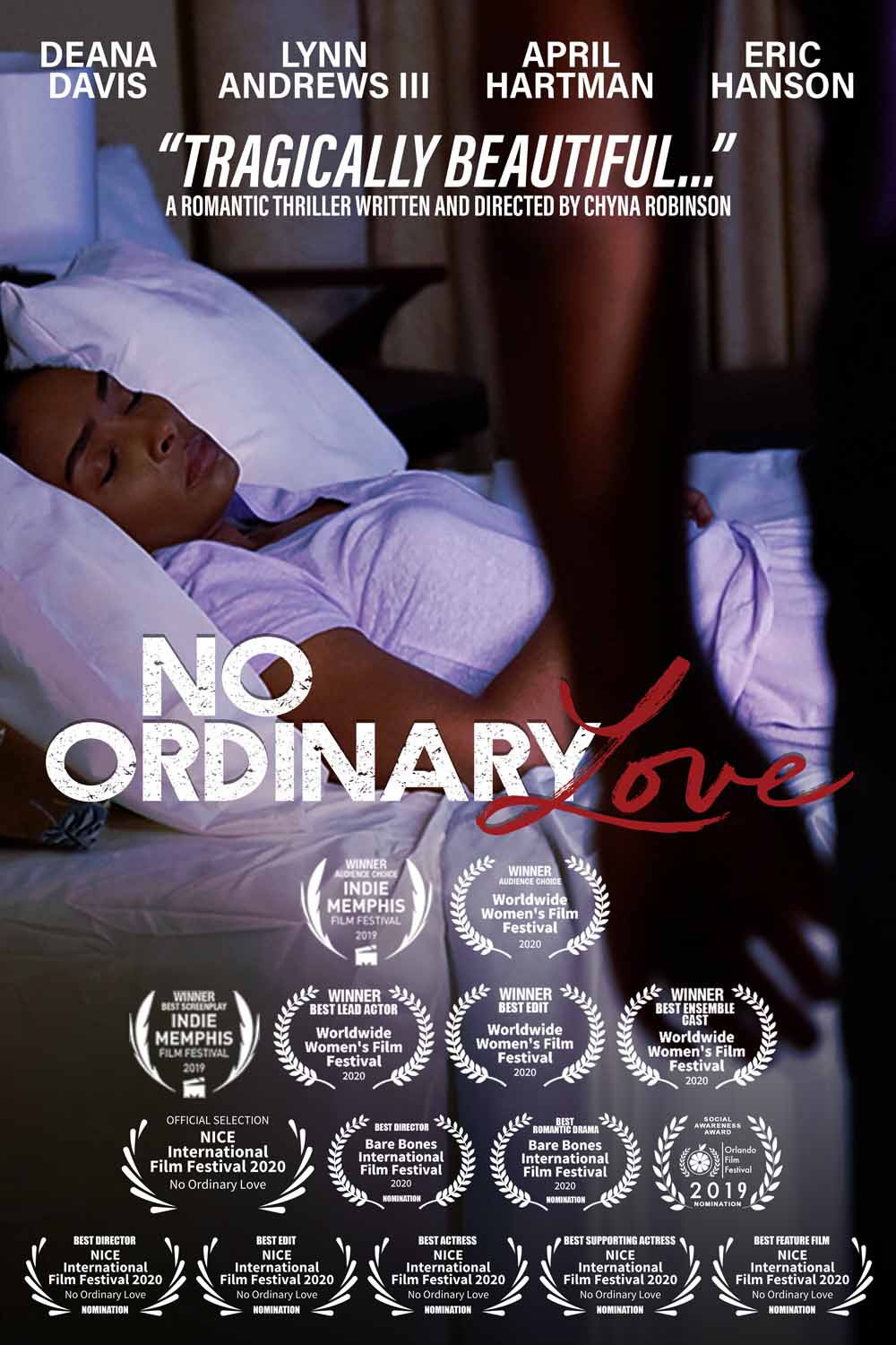 Chyna Robinson is no stranger to telling a good story, as she continues to prove with her latest film, 'No Ordinary Love.'