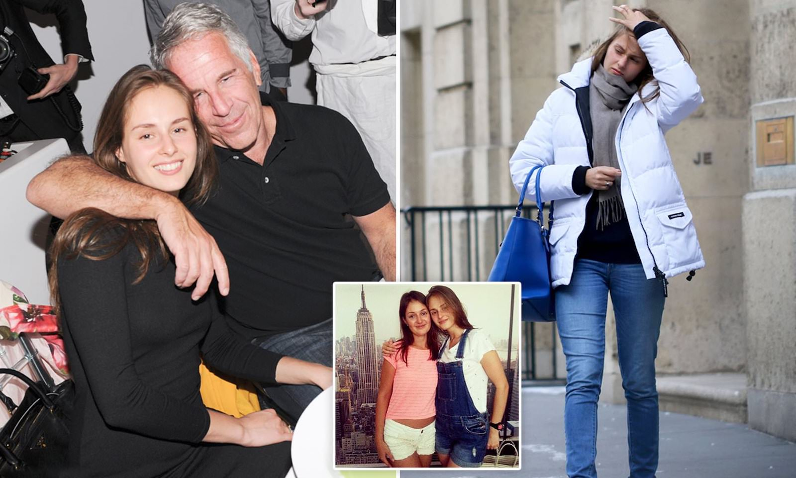 Jeffrey Epstein's secret girlfriend has shown her face for the first time since Epstein died last year. What has she and the rest of Epstein's family done?