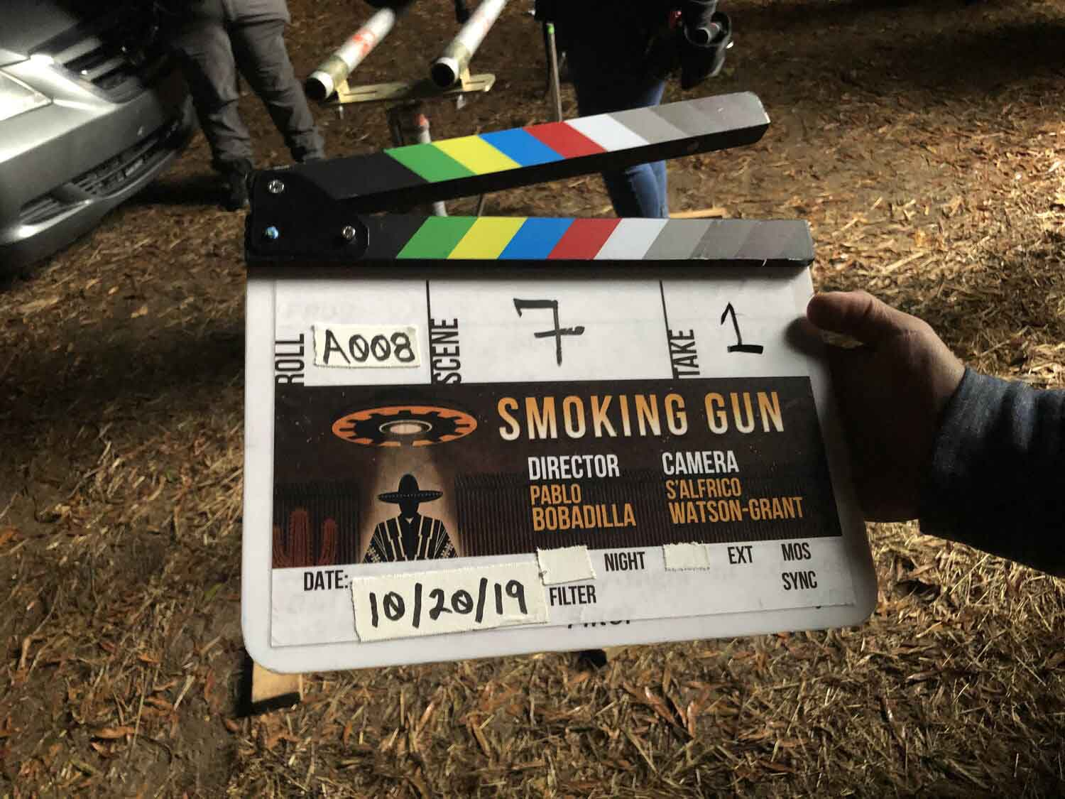 Pablo Bobadilla's first foray into the TV world is through the web series 'Smoking Gun'. But it's not just some boring old sci-fi show.