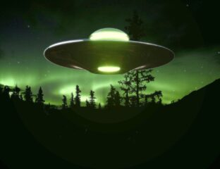 A strange nighttime sighting led to come Canadian citizens to snap pics of what they think might be aliens. What do you think?