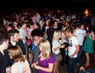 UK students are throwing parties to celebrate the new university term. How can health officials stop them from spreading COVID-19?
