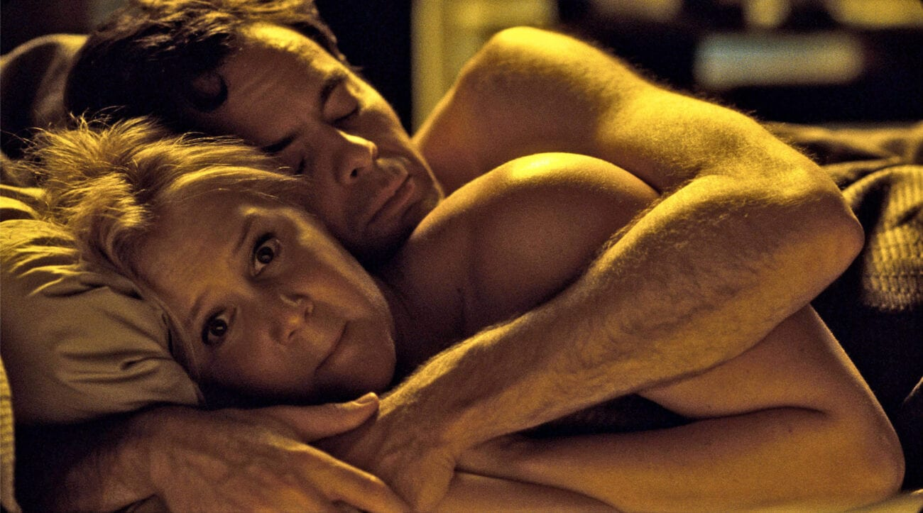 Not all movies try to make sex steamy. Take a look at some of the most awkward celebrity sex scenes out there.