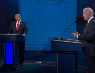 The second 2020 preisdential debate was still ridiculous, even if it was more calm than the last. Get your debate highlights from these memes.