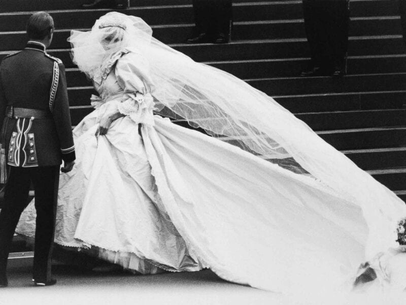 Netflix's 'The Crown' has a new season next month and they'll be featuring the wedding of Princess Diana. Did they do her dress justice?