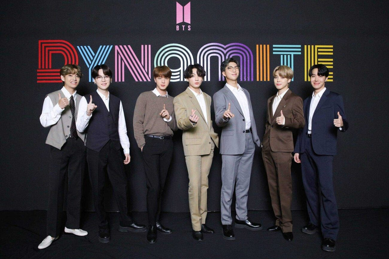 BTS scored a crossover smash with their song 'Dynamite.' Why did the K-pop group decide to record it with English lyrics?