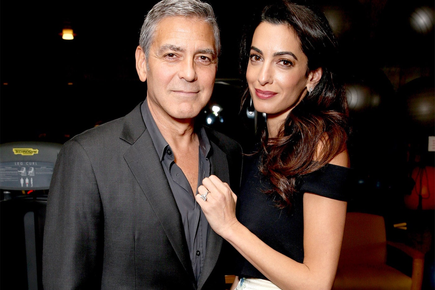 What's going on with George Clooney and his wife? Georgeclooney-01