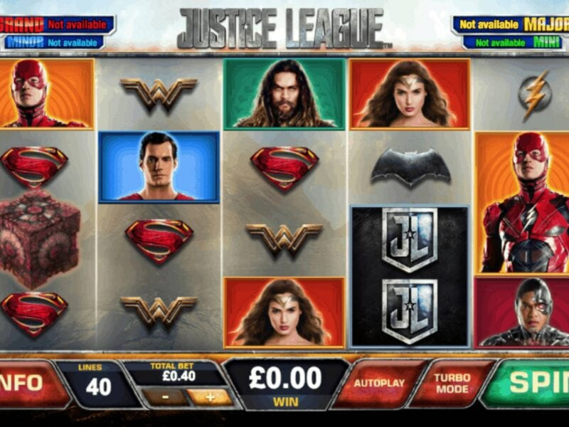 The 'Justice League' movie has inspired an interactive Playtech game. Check out the other Playtech games inspired by famous movies.