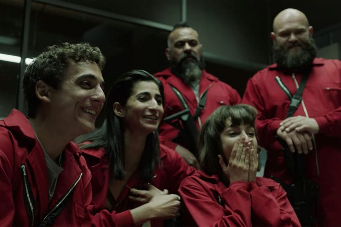 Is there anyone who's not obsessing over 'Money Heist'? These celebrities are also huge fans of the Netflix sensation.