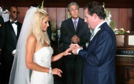 Is it true that Paris Hilton is actually married? Why does Piers Morgan say they are?