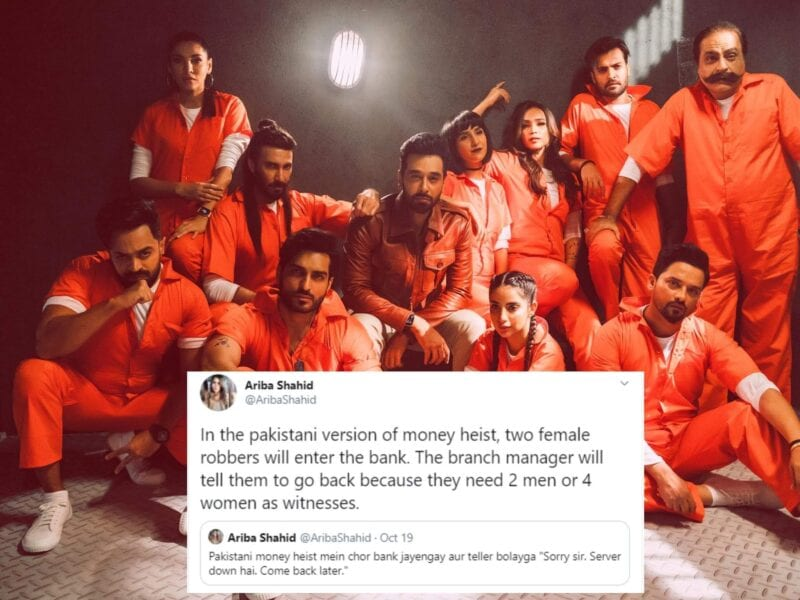 'Money Heist' is easily one of the biggest shows on Netflix worldwide, so it's no surprise others are trying to copy the show's fomula. But fans aren't happy.